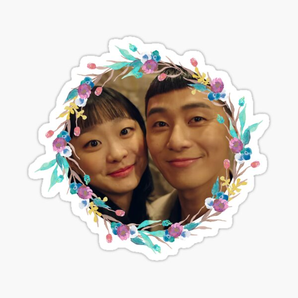 itaewon class - saeroyi and yiseo selfie Sticker