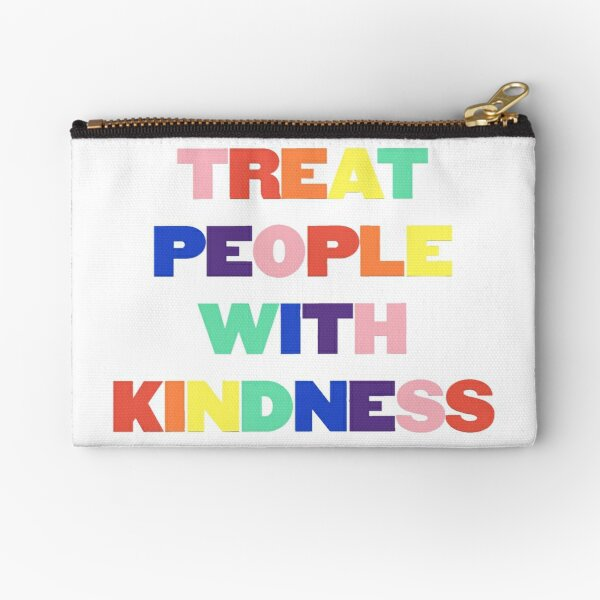 Rainbow TPWK Zipper Pouch