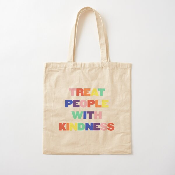 Rainbow TPWK Cotton Tote Bag