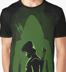 Green shadow Graphic T-Shirt