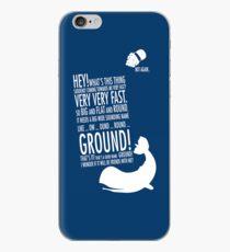 Panicking  iPhone Case