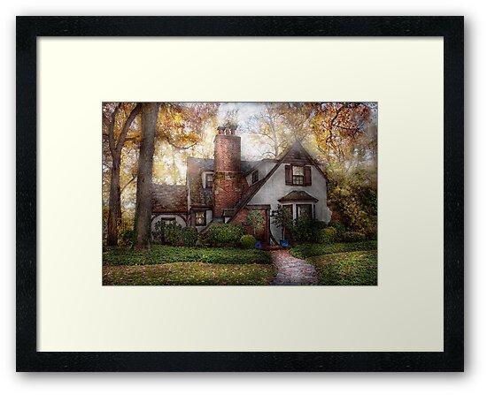 Cottage - Westfield, NJ - Grandma Ridinghoods house by Michael Savad