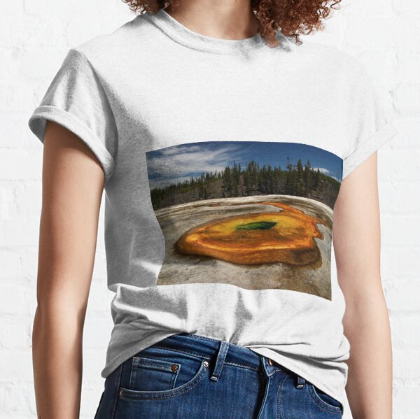 Chromatic Pool - Upper Geyser Basin - Yellowstone National Park Classic T-Shirt