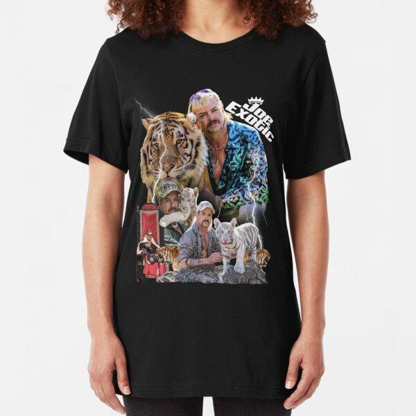 Joe Exotic, Tiger King, Tiger Shirt, Tiger King Tshirt, Tiger King Hoodie, Joe Exotic Shirt Slim Fit T-Shirt