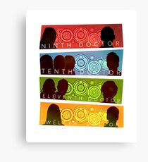 NuWho Doctors Canvas Print