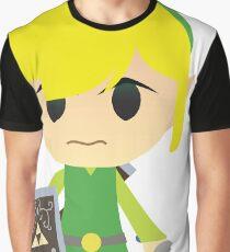 Chibi Toon Link Graphic T-Shirt