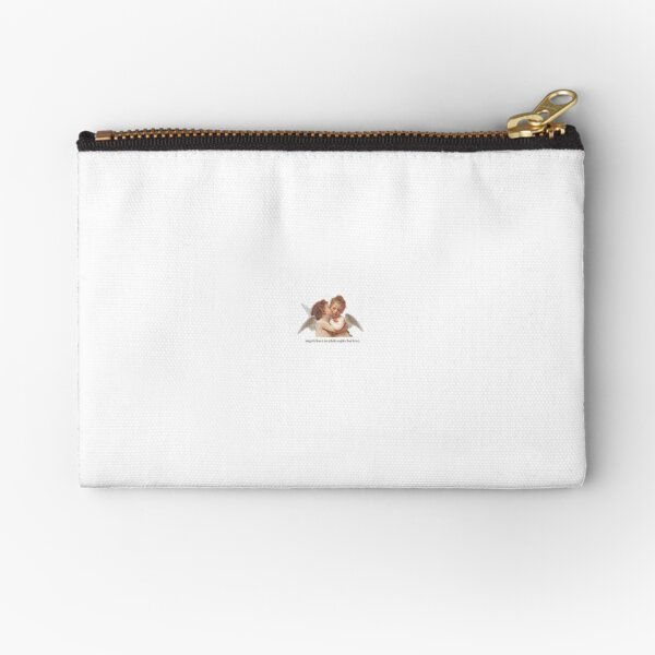 Angels have no philosophy but love  Zipper Pouch