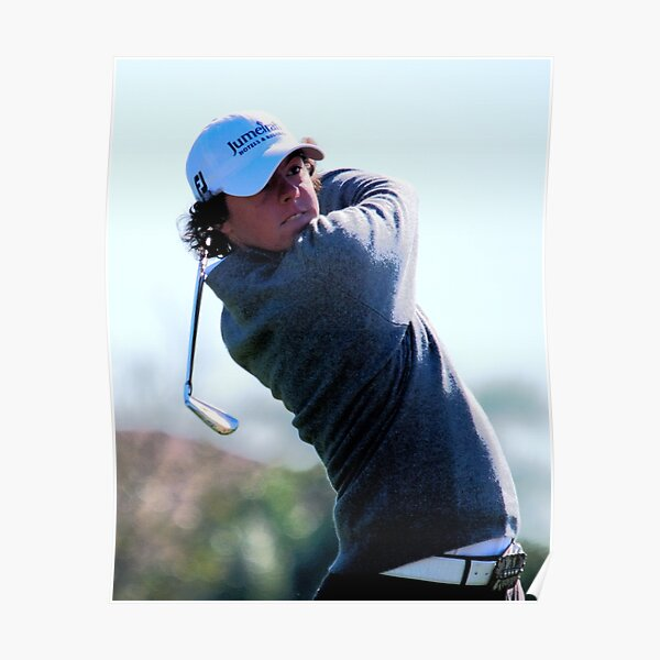 Rory McIlroy - Tees Off Poster