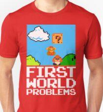 First World Problems (White) Unisex T-Shirt