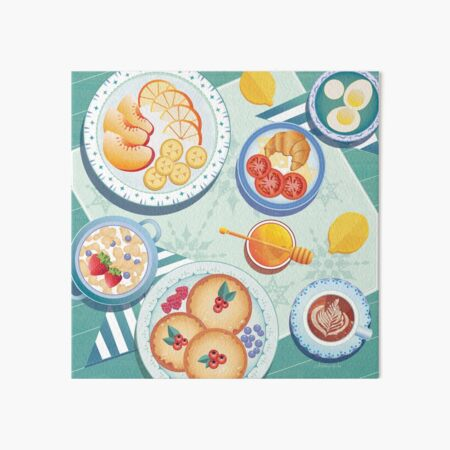 Breakfast Picnic Art Board Print