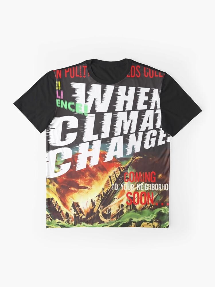 Alternative Ansicht von No Place to Hide ... the motion picture Grafik T-Shirt