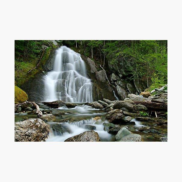 Moss Glen Falls - Midstream Photographic Print