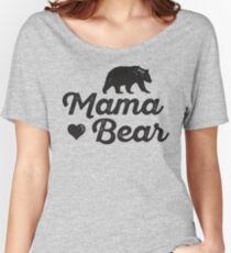 Mama Bear T-shirts coupe relax
