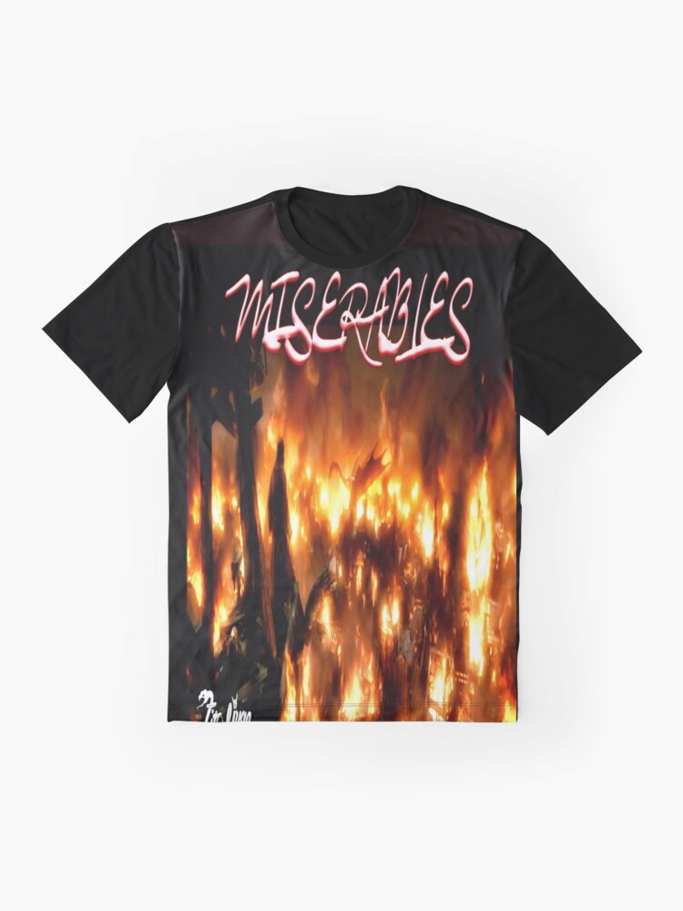 Alternate view of Miserable2 Graphic T-Shirt