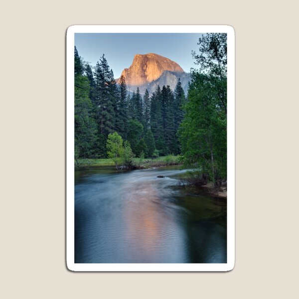 Half Dome Sunset - HDR Magnet