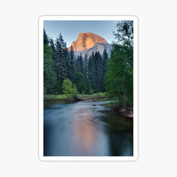 Half Dome Sunset - HDR Sticker