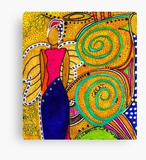 SPARKLE The Angel of Twinkling Thoughts Canvas Print
