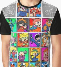 Warioware Mega Mix Graphic T-Shirt