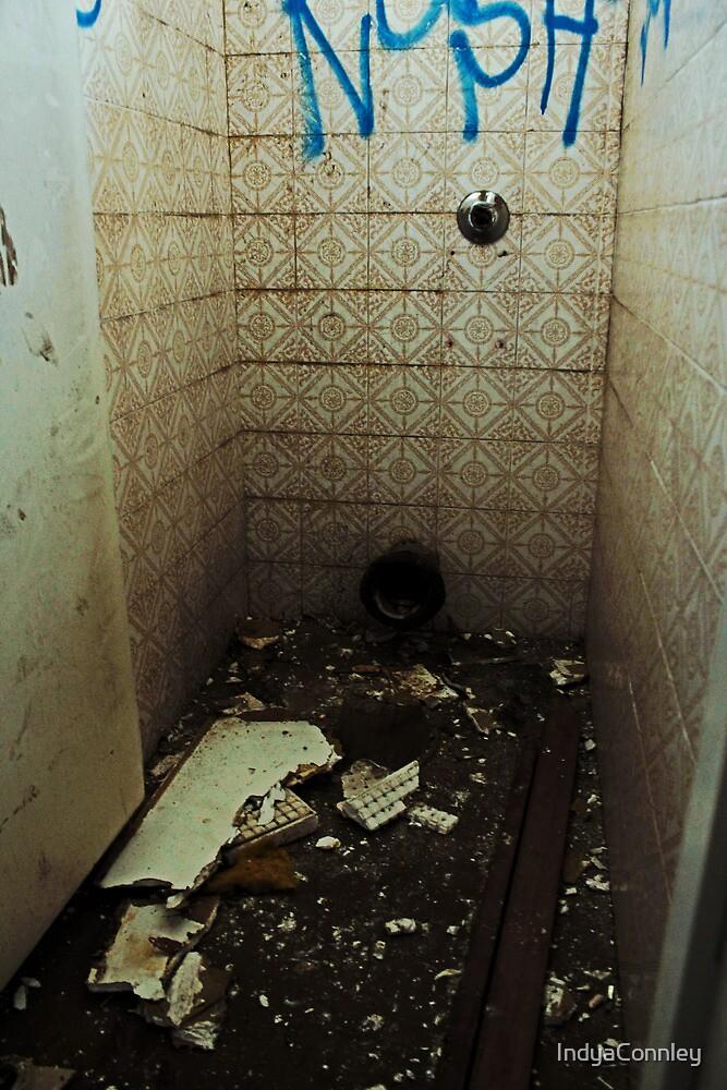 Broken Bathroom by IndyaConnley