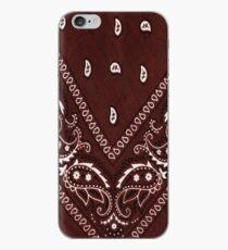 Brown Bandana 1 iPhone Case