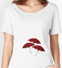Three Red Umbrellas Women's Relaxed Fit T-Shirt
