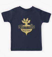 Schrute Farms B&B (no circles) Kids Tee