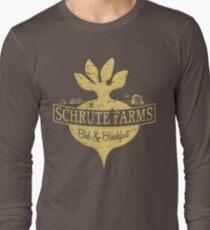 Schrute Farms B&B (no circles) Long Sleeve T-Shirt