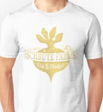 Schrute Farms B&B (no circles) Unisex T-Shirt