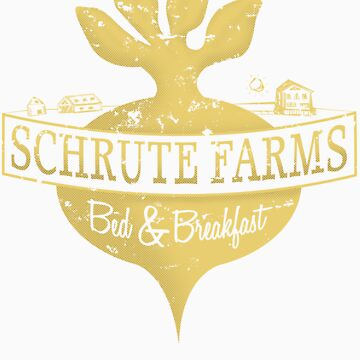Schrute Farms B&B (no circles) by PEZRULEZ