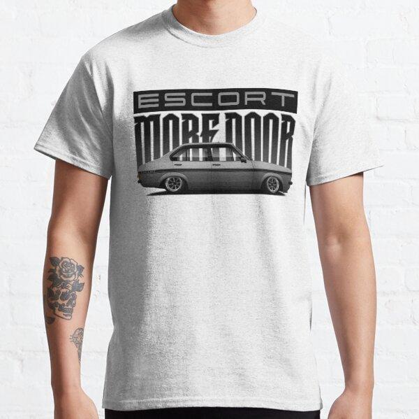 """Escort """"more door"""" Silver Classic T-Shirt"""
