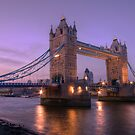 Tower Bridge at Sunset II, London, UK by strangelight