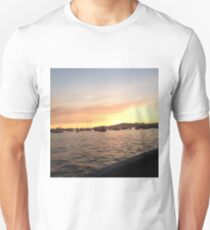 sunset in vancouver Unisex T-Shirt