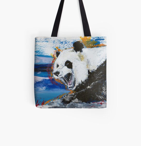 Panda Tote bag doublé