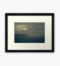 Winter Beach #1 Framed Print