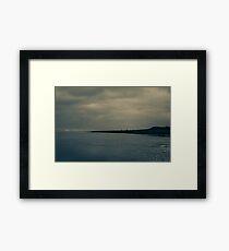 Winter Beach #5 Framed Print