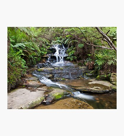 Small Falls, Blue Mountains, NSW Photographic Print