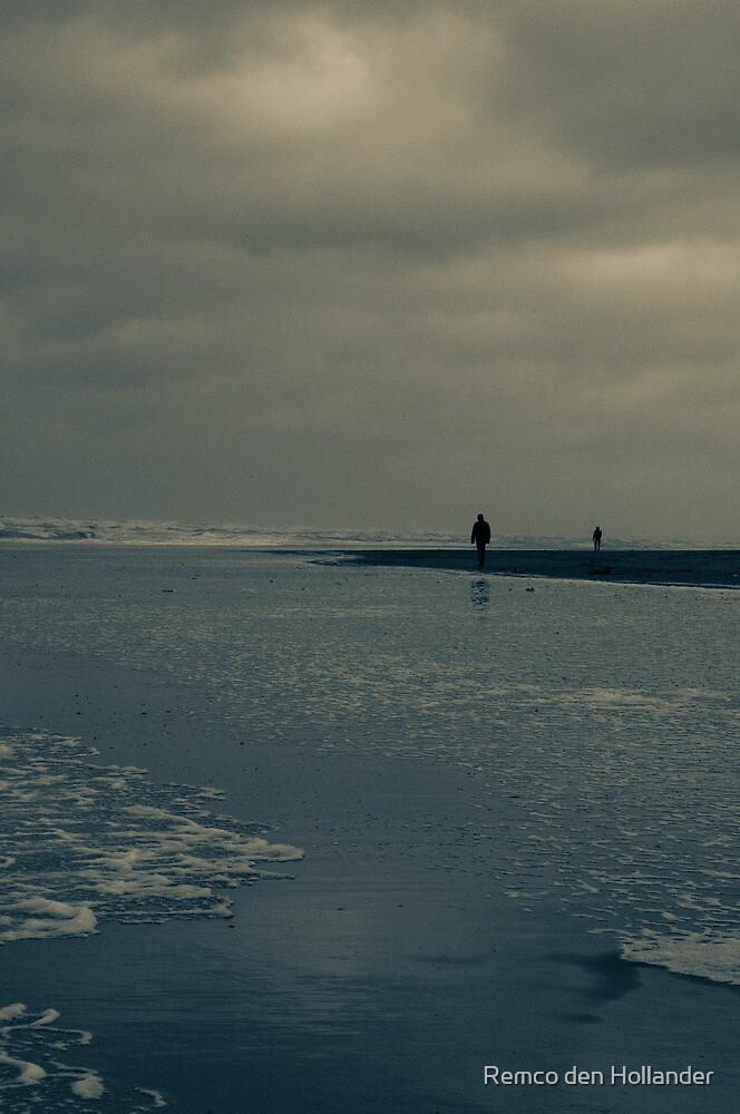Winter Beach #7 by Remco den Hollander