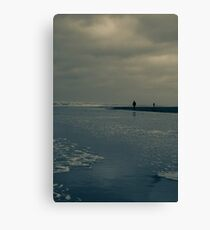 Winter Beach #7 Canvas Print