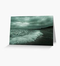 Winter Beach #8 Greeting Card