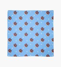 Cookie Cat Pattern (Blue) Scarf