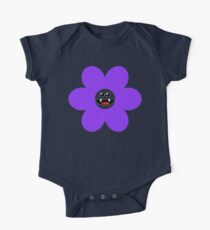 SAVAGE FLOWER PURPLE One Piece - Short Sleeve