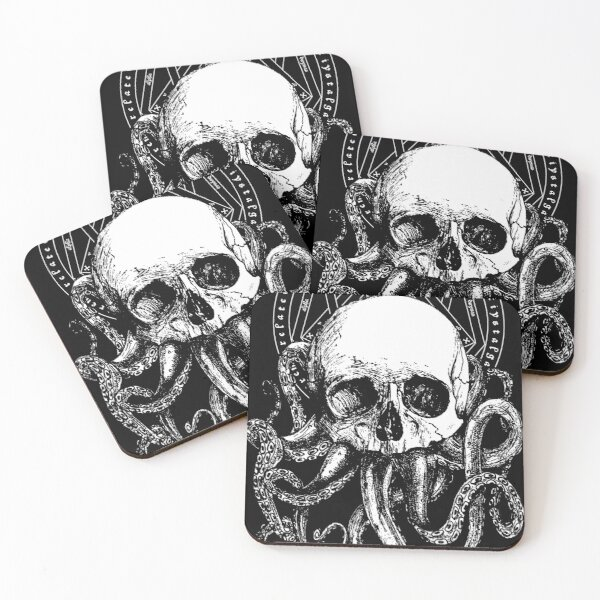 Pieces of Cthulhu  Coasters (Set of 4)