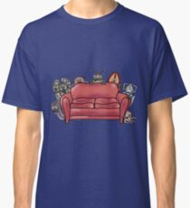 Behind the sofa Classic T-Shirt