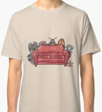 Behind the sofa Classic T-Shirt