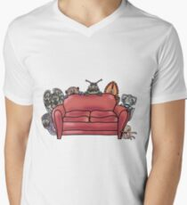 Behind the sofa Men's V-Neck T-Shirt