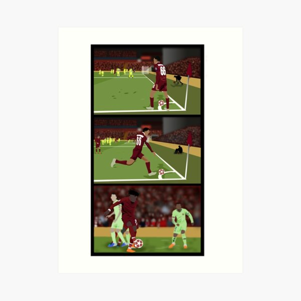 Corner taken quickly, Origi! Art Print