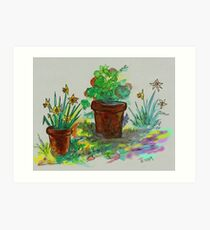 Watercolor - Ode to Spring Art Print