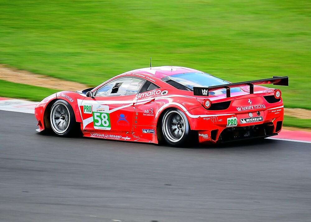 Ferrari F458 Italia No 58 by Willie Jackson