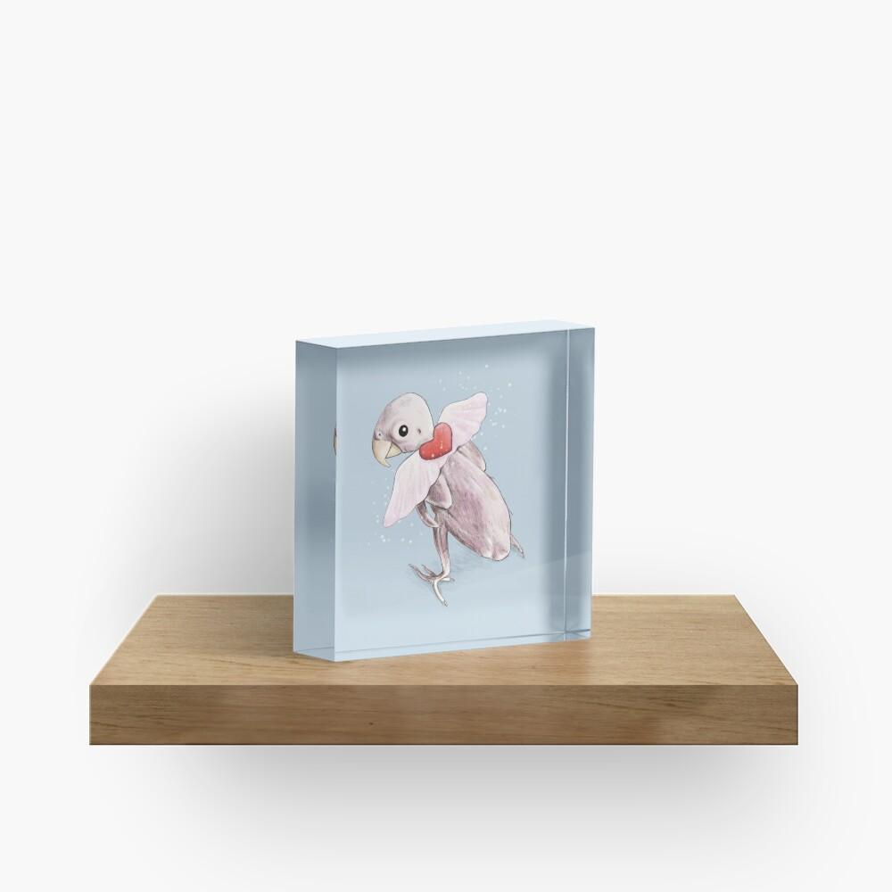Rhea - Flying Free Acrylic Block