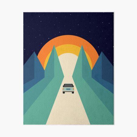 Wonderful Trip Art Board Print